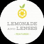 lemonade lenses feature button